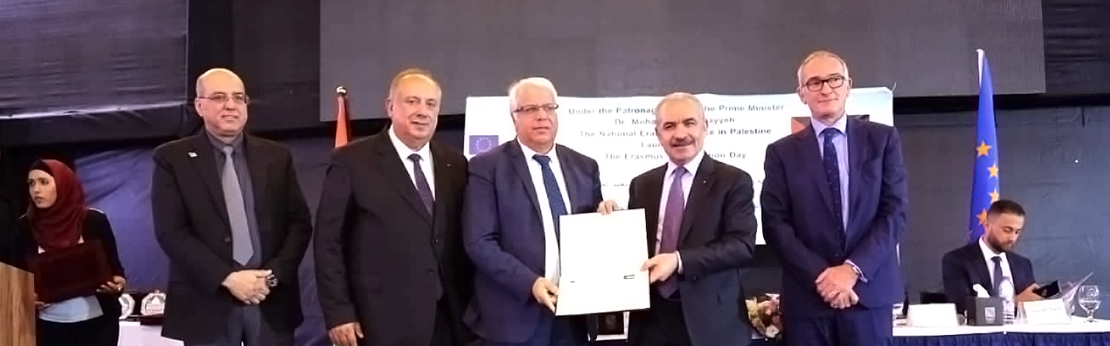 Palestine Polytechnic University (PPU) - رئيس الوزراء يكرم البوليتكنك