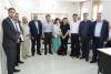 Palestine Polytechnic University (PPU) - وفد صيني رفيع المستوى وعدداً من المهندسين من الهيئة العامة للمدن والمناطق الصناعية الحرة يشاركون في مناقشة مشروع تخرج في جامعة بوليتكنك فلسطين