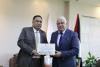Palestine Polytechnic University (PPU) - Palestine Polytechnic University receives the Indian ambassador