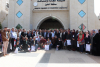 """Palestine Polytechnic University (PPU) - مُشاركة طلبة جامعة بوليتكنك فلسطين في استقبال وفد """"ضيوف خليل الرحمن"""" من محافظة طولكرم"""