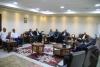 Palestine Polytechnic University (PPU) - جامعة بوليتكنك فلسطين تستقبل  عضو اللجنة التنفيذية لمنظمة التحرير الفلسطينية الدكتور احمد أبو هولي