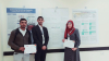 Palestine Polytechnic University (PPU) -   Students from Palestine Polytechnic University receive the best scientific poster defining engineering and computer science at the Second Research Conference for Palestinian Undergraduate Students
