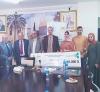 Palestine Polytechnic University (PPU) - جامعة بولتكنك فلسطين تفوز بالمركز الاول في جائزة شركة المسروجي للابحاث الطبية