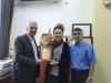 Palestine Polytechnic University (PPU) - Palestine Polytechnic University Honors Dr. Tamrika Shvili, an English Teacher at the Languages and Translation Center