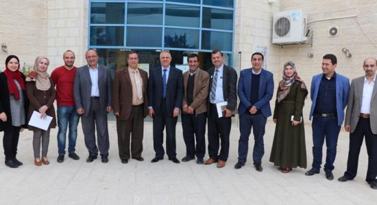 Palestine Polytechnic University (PPU) - عقد الاجتماع الدوري لمراكز ودوائر خدمة المجتمع