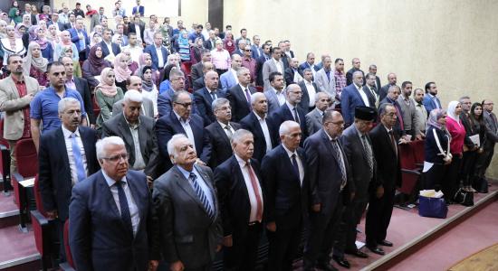 "Palestine Polytechnic University (PPU) - Palestine Polytechnic University hosts ""The Seventh National Students Innovation Conference"" in partnership with Palestine University in Gaza"""