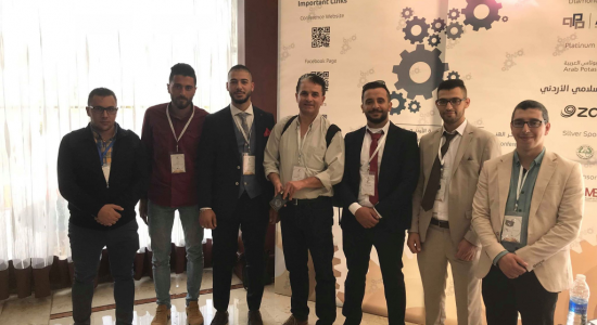 Palestine Polytechnic University (PPU) - Distinguished presence of Palestine Polytechnic University at the Seventh Jordanian International Mechanical Engineering Conference