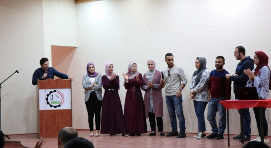 Palestine Polytechnic University (PPU) - Palestine Polytechnic University holds a workshop on exchanging ideas and experiences to students participating in the academic mobility program with the University of Michigan