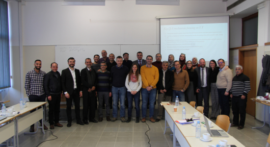 Palestine Polytechnic University (PPU) - Palestine Polytechnic University participates in the meetings of  Improving Governance Project in Slovenia