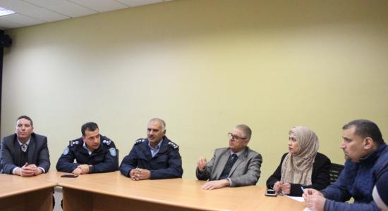 "Palestine Polytechnic University (PPU) - جامعة بوليتكنك فلسطين وشرطة محافظة الخليل تطلقان ""برنامج الطالب صديق الشرطة"""