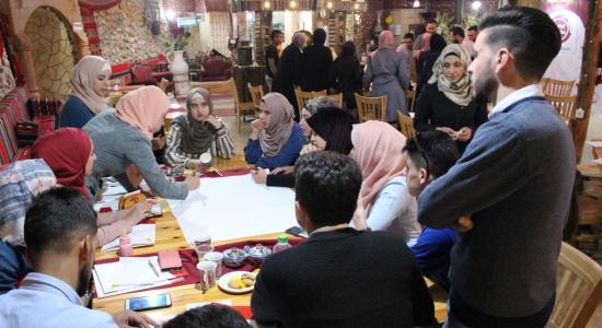 "Palestine Polytechnic University (PPU) - حاضنة أعمال جامعة بوليتكنك فلسطين بالشراكة مع ""التعاون"" يختتمان مخيمات اختبار الأفكار"