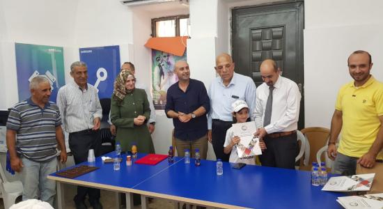 Palestine Polytechnic University (PPU) - جامعة بوليتكنك فلسطين وبلدية عرابة  تختتمان المخيم التكنولوجي الصيفي