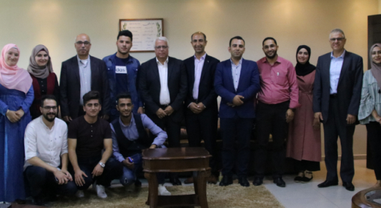 Palestine Polytechnic University (PPU) - The Palestinian American Medical Association (PAMA) distributes scholarships to the students of the College of Medicine (CM) at Palestine Polytechnic University