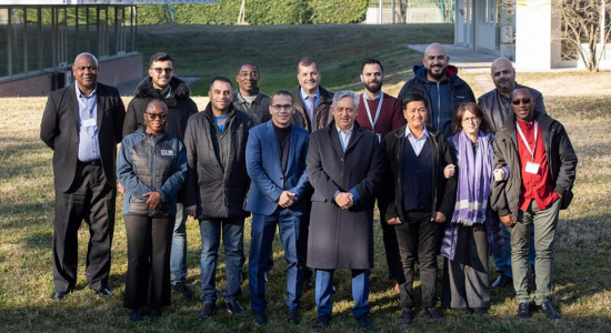 Palestine Polytechnic University (PPU) - Director of the Palestinian National Center of Occupational Safety, health and Environmental Protection (COSHEP) receives a training course in Italy