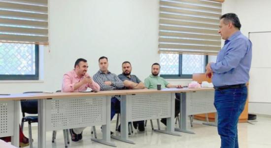 Palestine Polytechnic University (PPU) - جامعة بوليتكنك فلسطين تعقد اللقاء الأول لتدريب مدربين على منهجية المهمة المعقدة