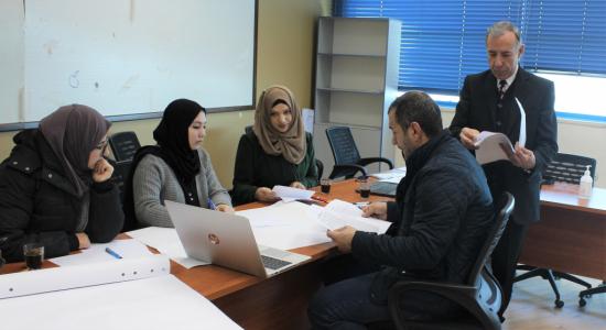 """Palestine Polytechnic University (PPU) - مركز التميّز في التعليم والتعلّم في """"البوليتكنك"""" يختتم دورة مُقَدمة في التعليم والتعلّم الجامعي"""