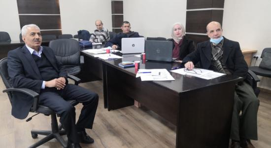 Palestine Polytechnic University (PPU) - جامعة بوليتكنك فلسطين تشارك في تدريب Instructional design, digital and blended learning