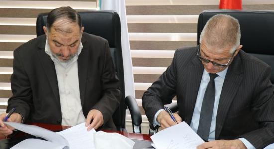 Palestine Polytechnic University (PPU) - جامعة البوليتكنك وبلدية الخليل يوقّعان اتفاقية عمل استشاري