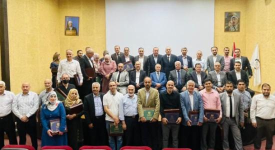 Palestine Polytechnic University (PPU) -  جامعة بوليتكنك فلسطين تُكرّم الباحثين المُتميّزين