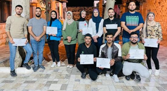 """Palestine Polytechnic University (PPU) - """"البوليتكنك"""" تشارك في ورش عمل مجموعة الإعلامي المُتطوع"""