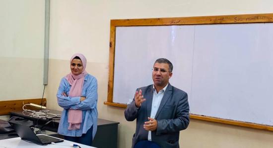Palestine Polytechnic University (PPU) - البوليتكنك يستضيف الاستاذة روان مليح من معهد يوليش للأبحاث في المانيا وتلقي محاضرة حول تطبيقات المواد النانوية في معالجة المياه
