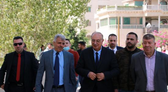 Palestine Polytechnic University (PPU) - جامعة بوليتكنك فلسطين تستقبل وزير التعليم العالي والبحث العلمي لبحث آليات التعاون المُشترك
