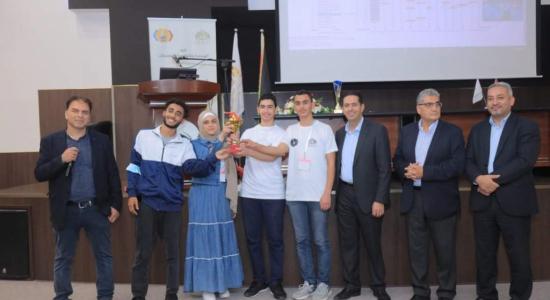 Palestine Polytechnic University (PPU) - طلبة جامعة بوليتكنك فلسطين يحصدون المراكز الأولى في مُسابقة البرمجة الفلسطينية العاشرة