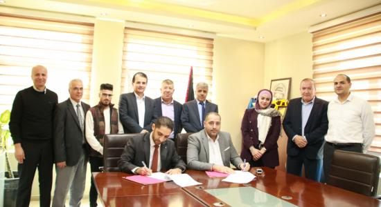 Palestine Polytechnic University (PPU) - اتفاقية تعاون بين جامعة بوليتكنك فلسطين وشركة كي اس لايت